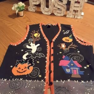 Designers Originals Studio Treat Halloween sweater